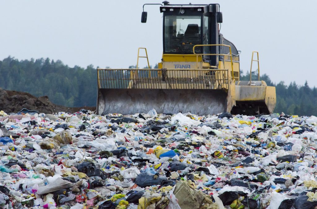 Picture of a landfill.